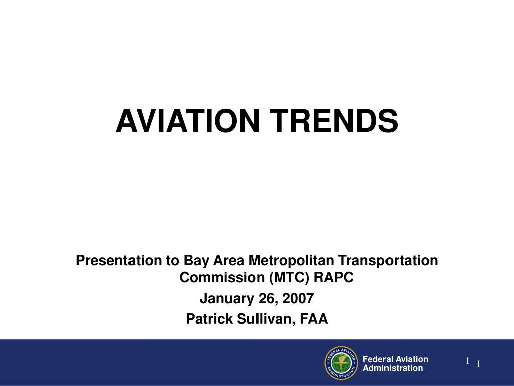 Presentation to Bay Area Metropolitan Transportation Commission (MTC) RAPC