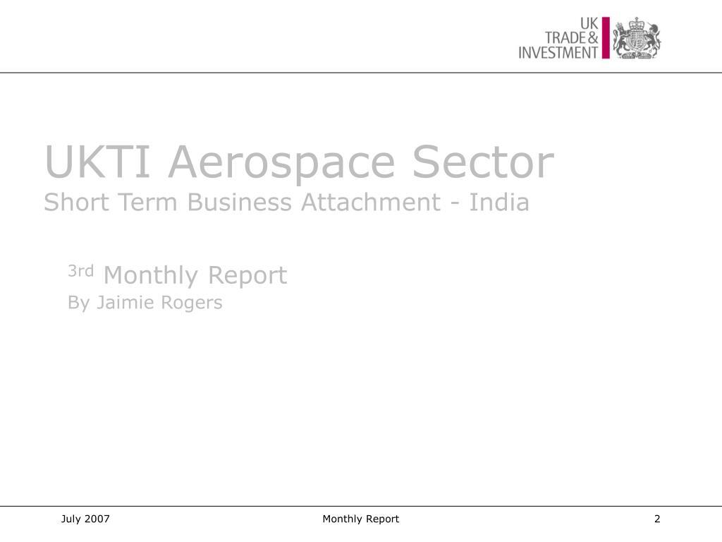 UKTI Aerospace Sector