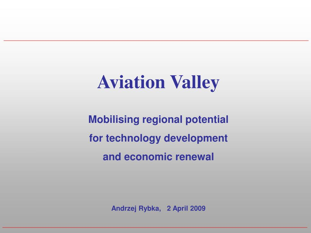 Aviation Valley