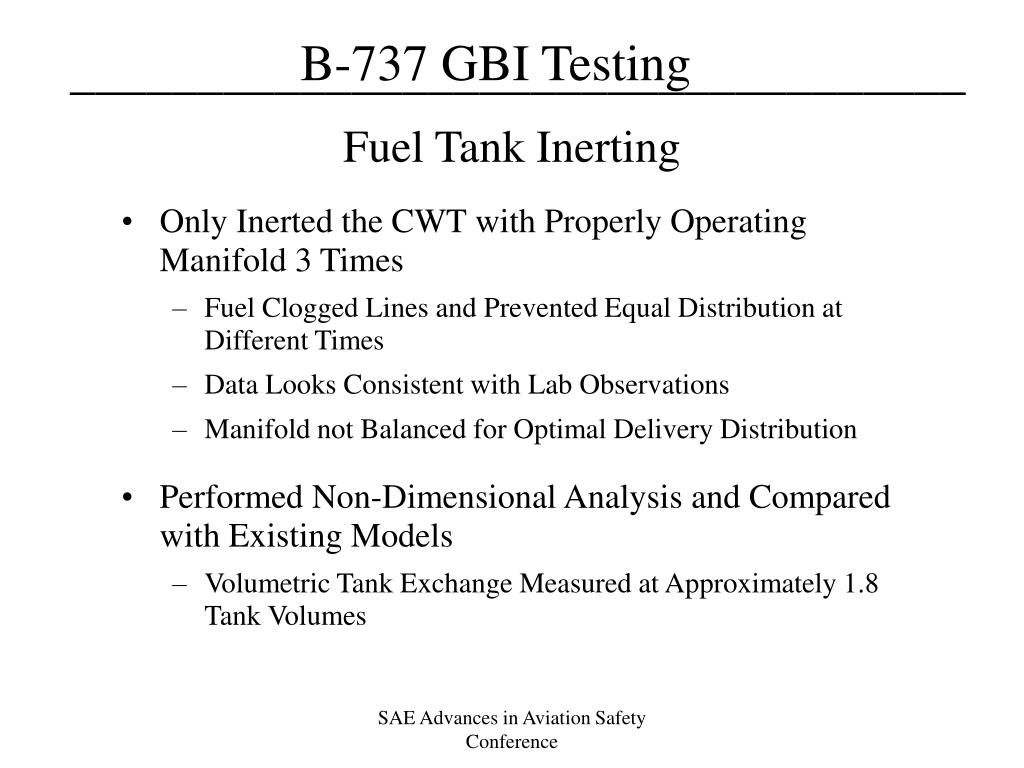 Fuel Tank Inerting