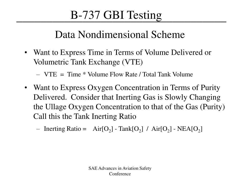 Data Nondimensional Scheme
