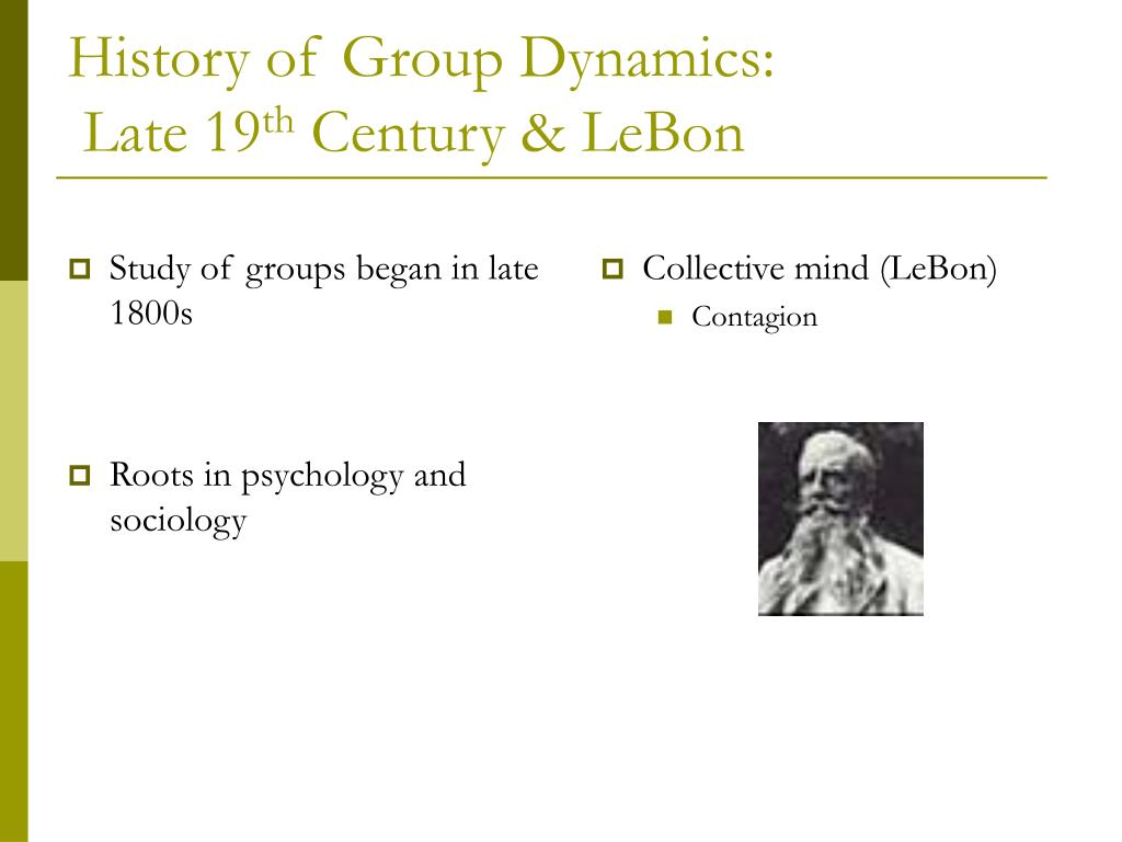 Study of groups began in late 1800s