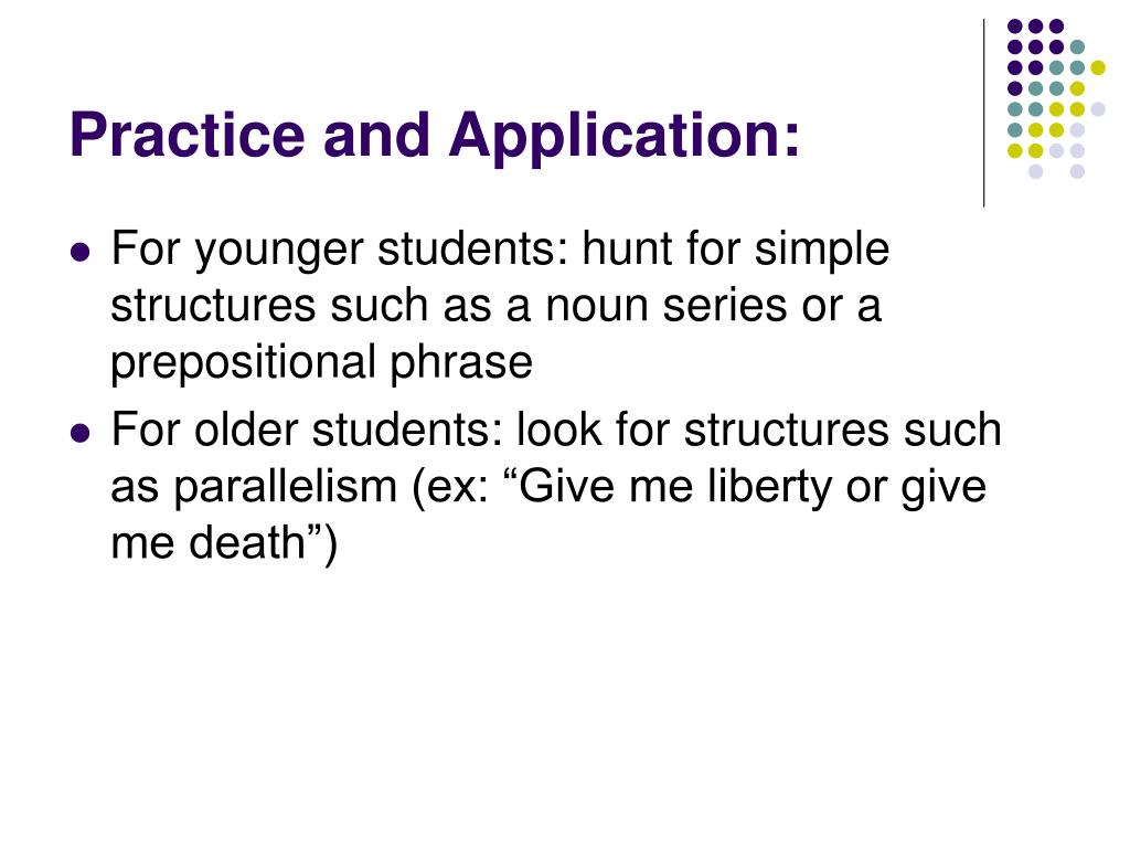 Practice and Application: