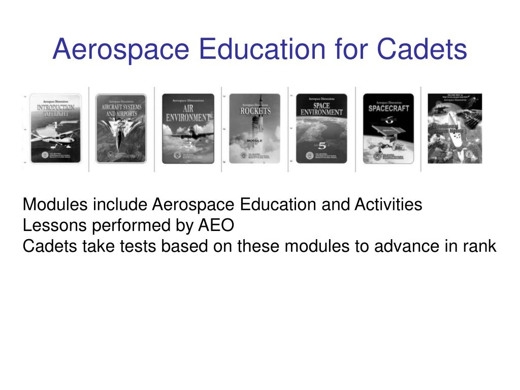 Aerospace Education for Cadets