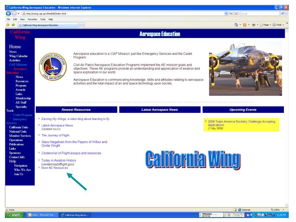 California Wing