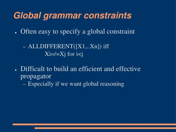 Global grammar constraints2