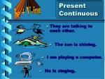 present continuous5