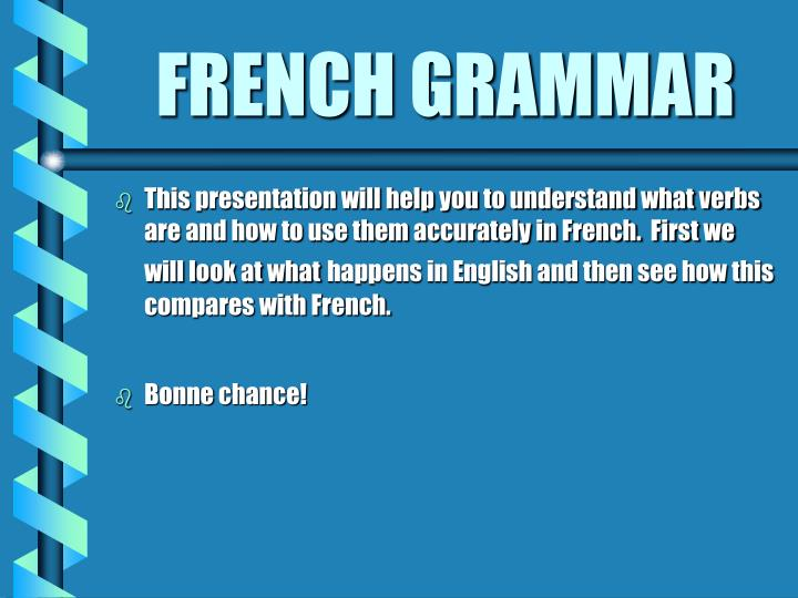 French grammar2