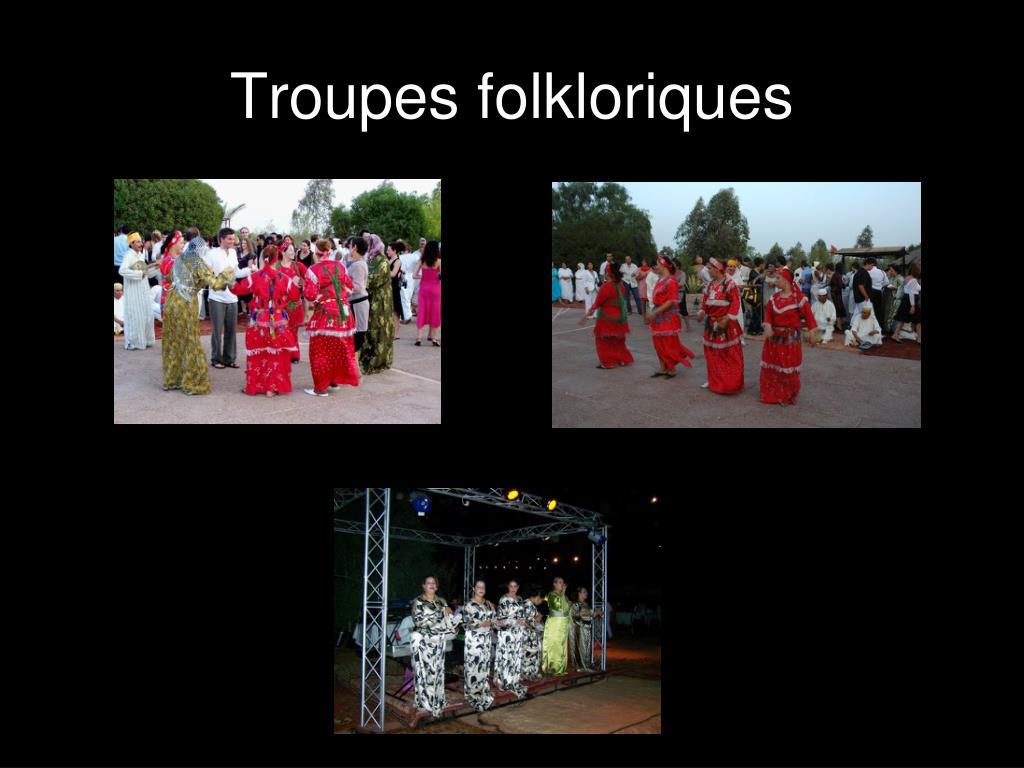 Troupes folkloriques