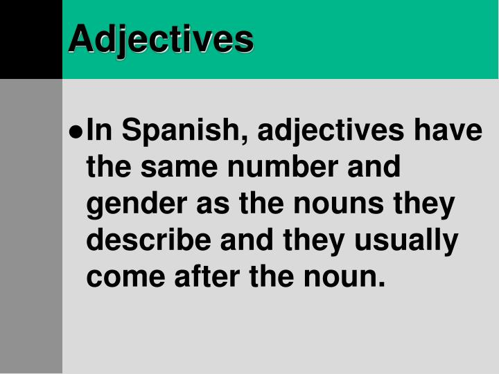 Adjectives3