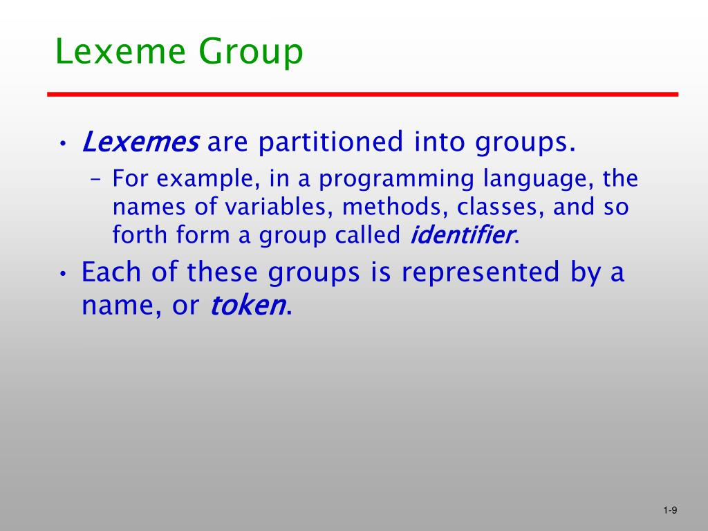 Lexeme Group