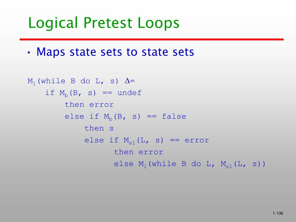 Logical Pretest Loops