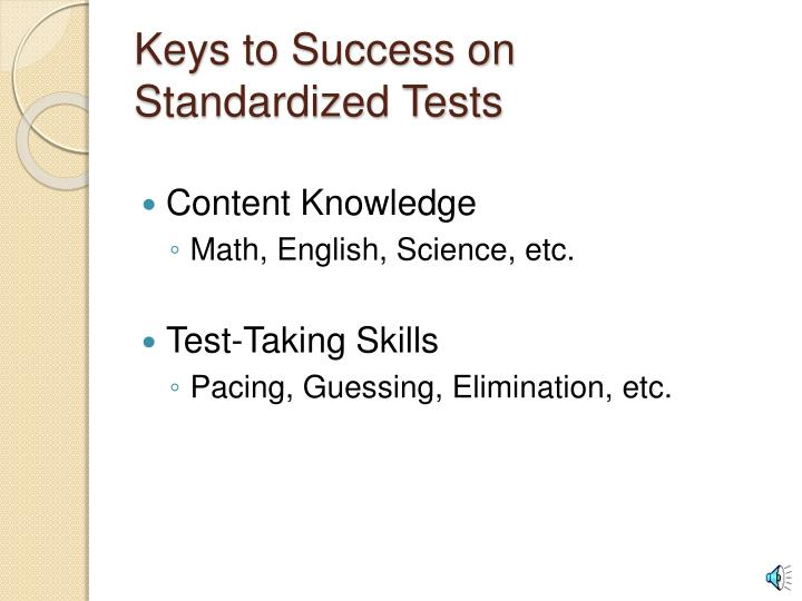 Keys to Success on