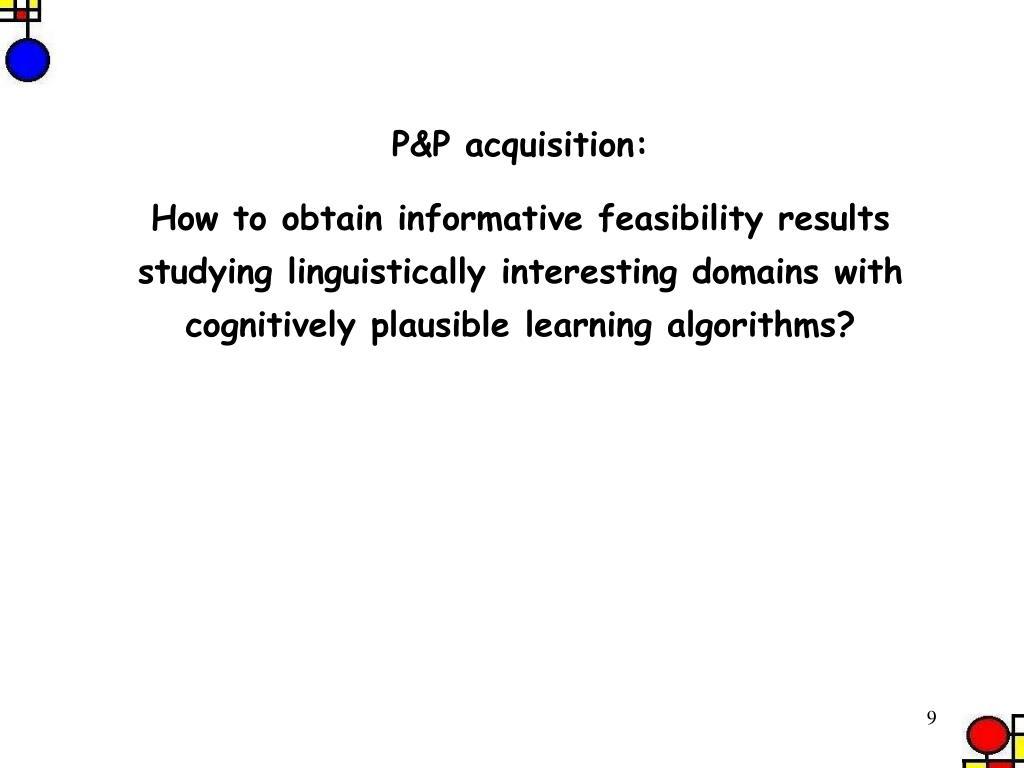 P&P acquisition: