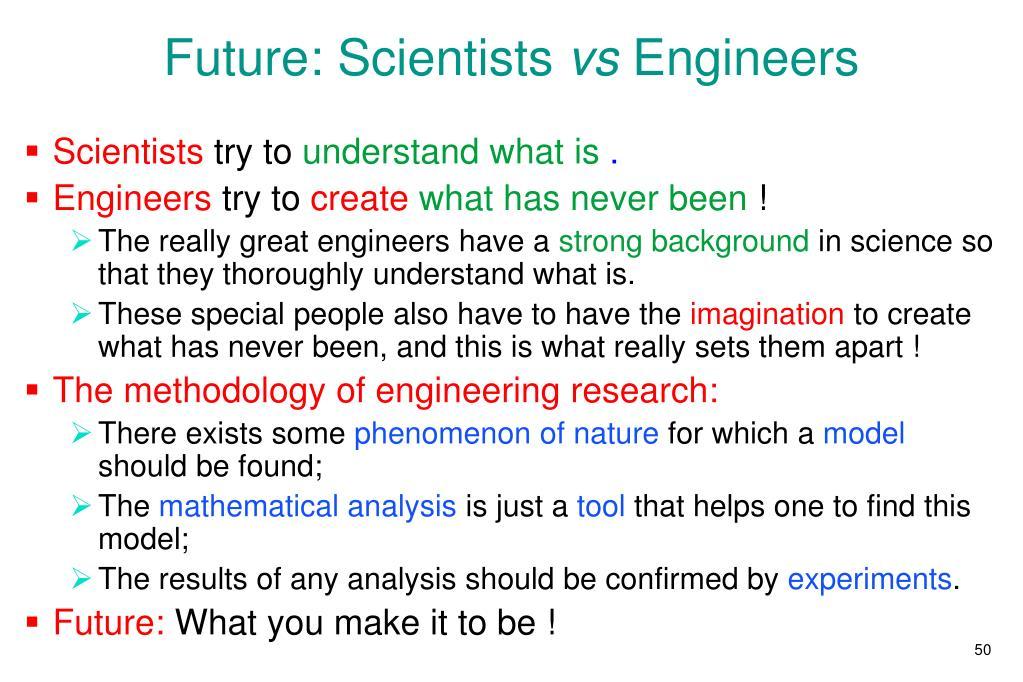 Future: Scientists