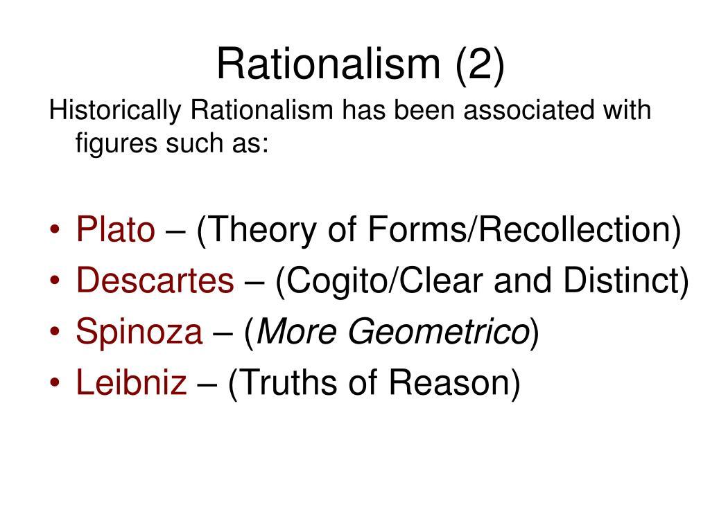 Rationalism (2)