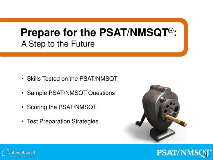 Prepare for the PSAT/NMSQT