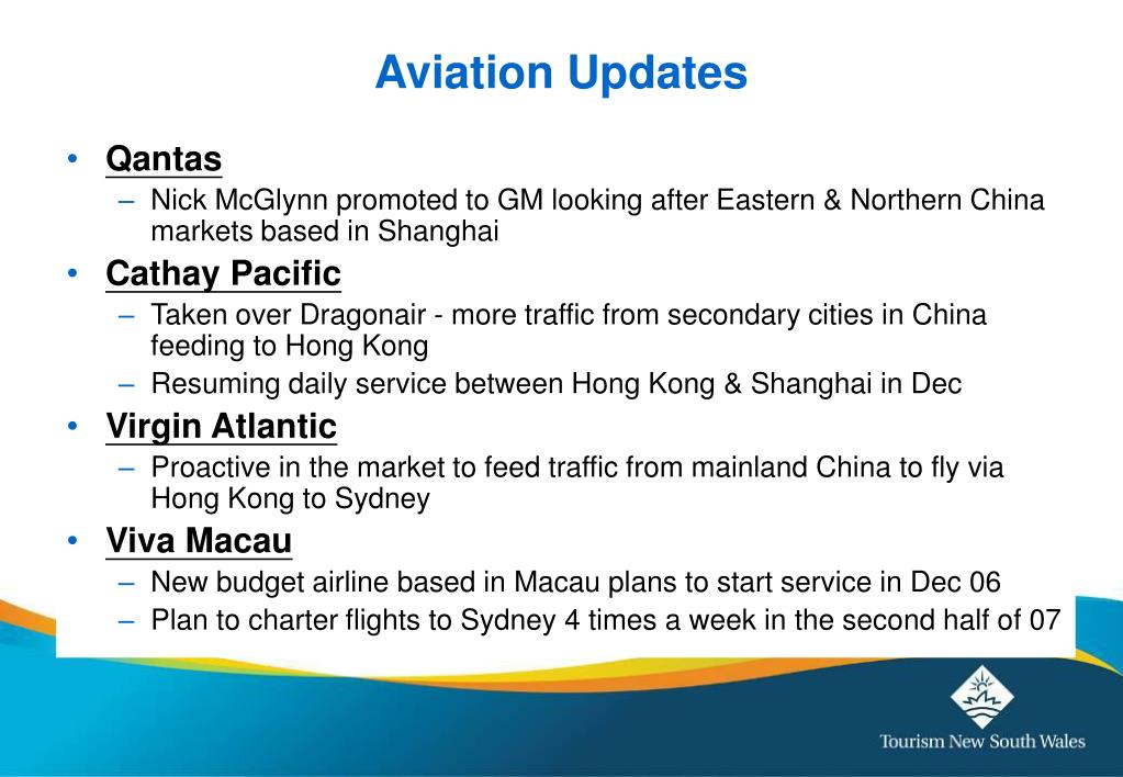 Aviation Updates