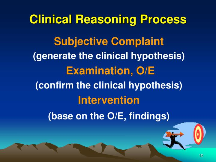 Clinical Reasoning Process