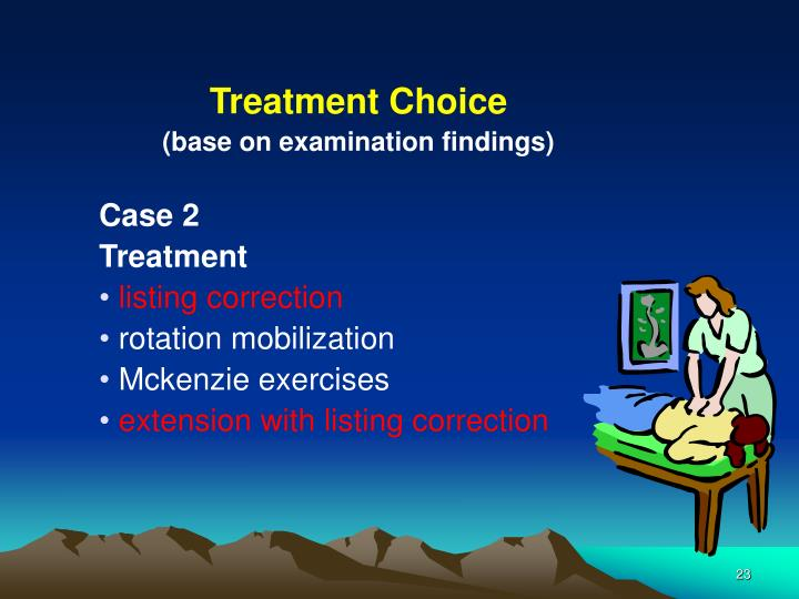 Treatment Choice