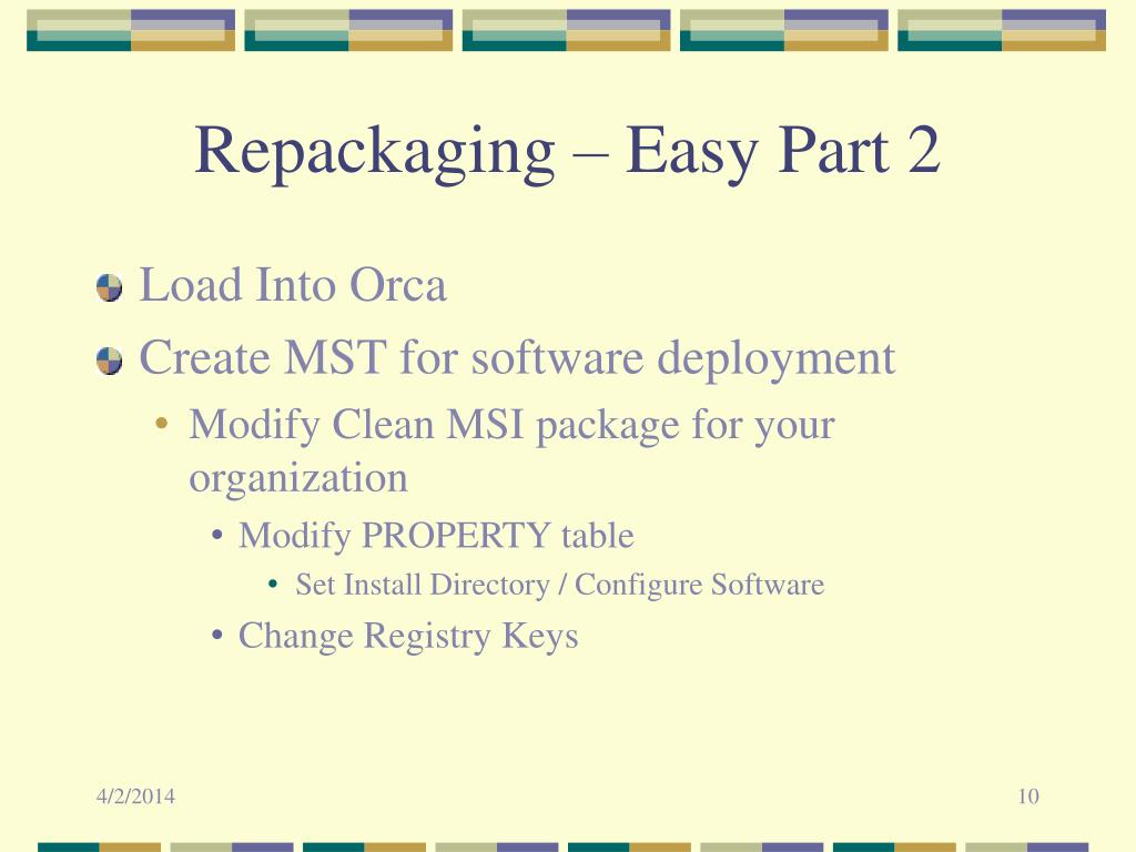 Repackaging – Easy Part 2
