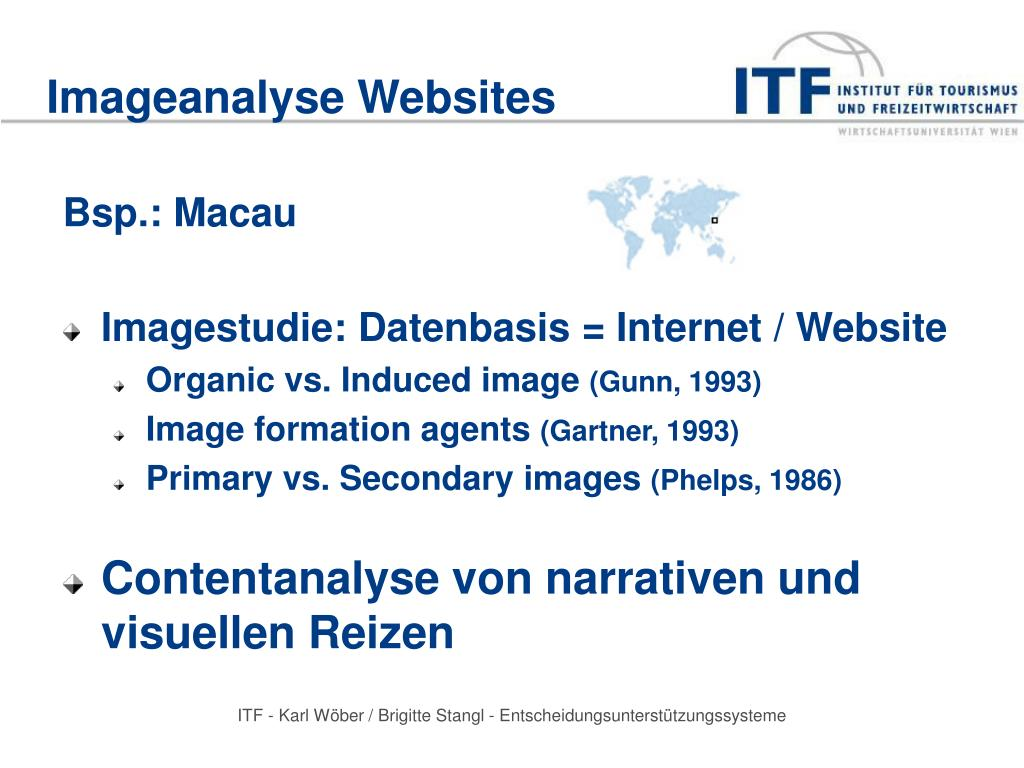Imageanalyse Websites