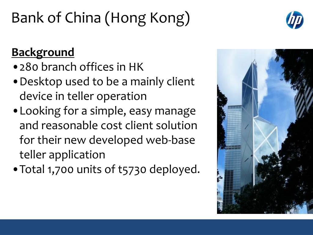 Bank of China (Hong Kong)