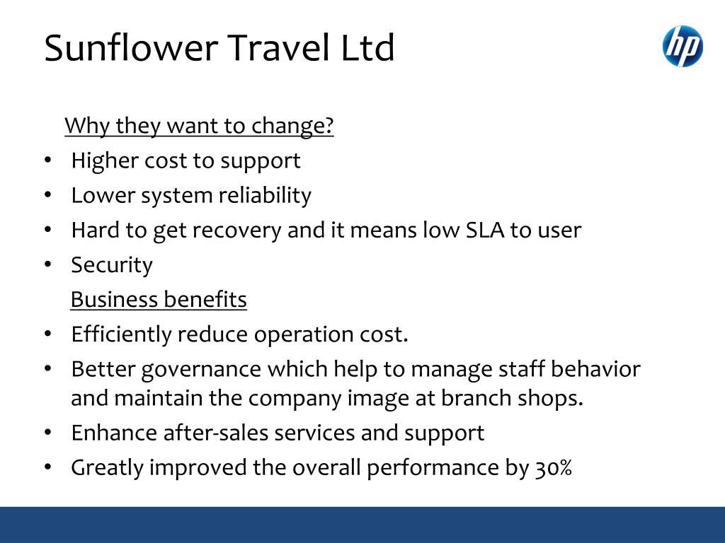 Sunflower Travel Ltd