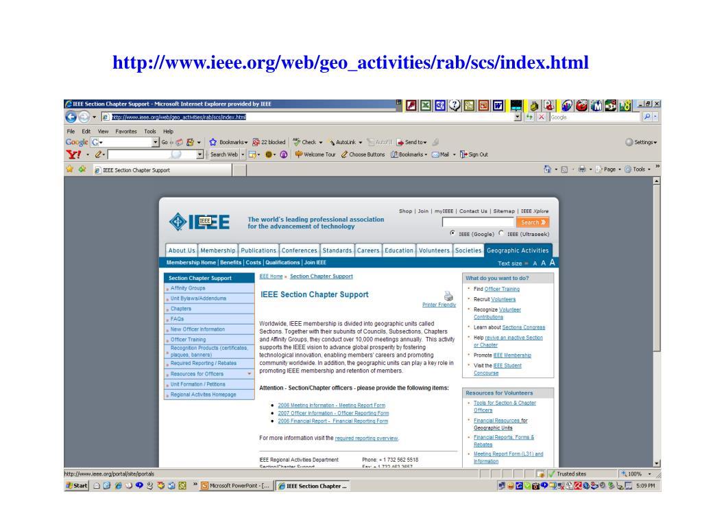 http://www.ieee.org/web/geo_activities/rab/scs/index.html
