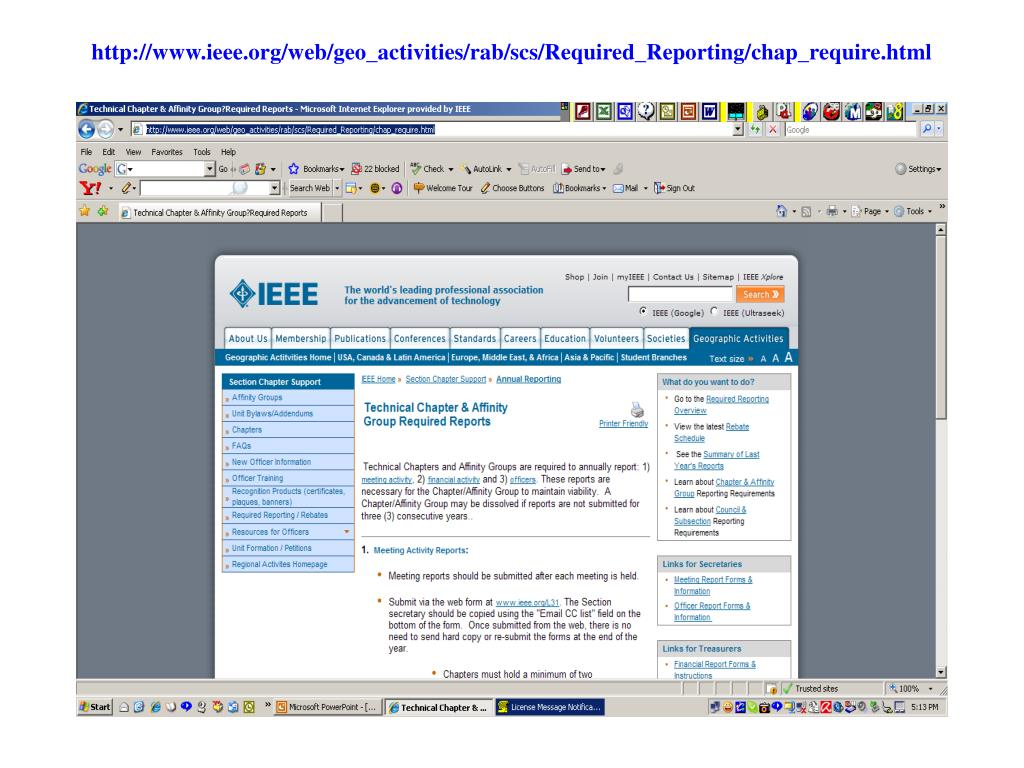 http://www.ieee.org/web/geo_activities/rab/scs/Required_Reporting/chap_require.html