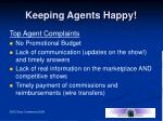 keeping agents happy