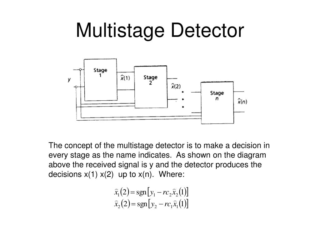Multistage Detector