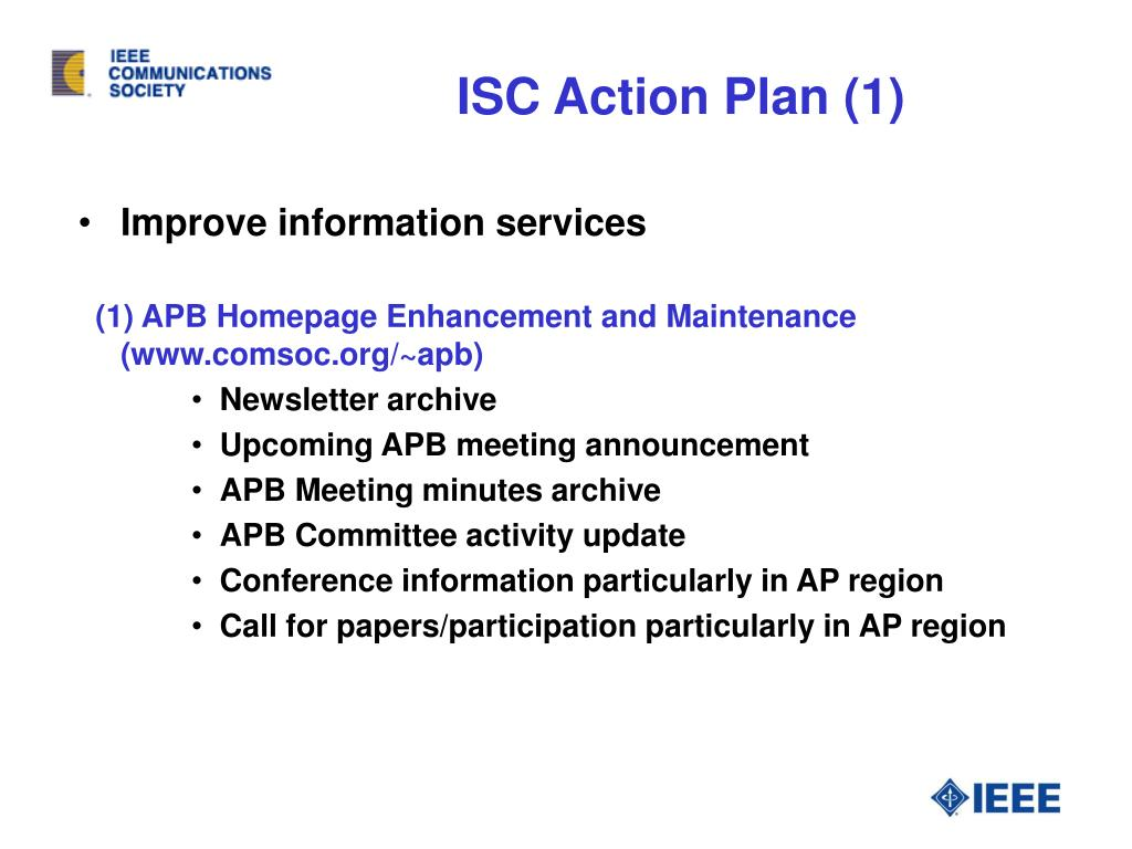 ISC Action Plan (1)