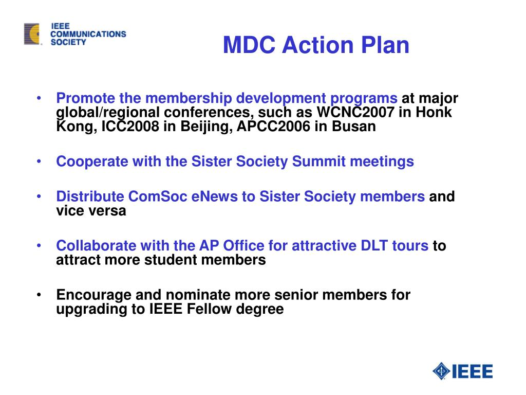MDC Action Plan