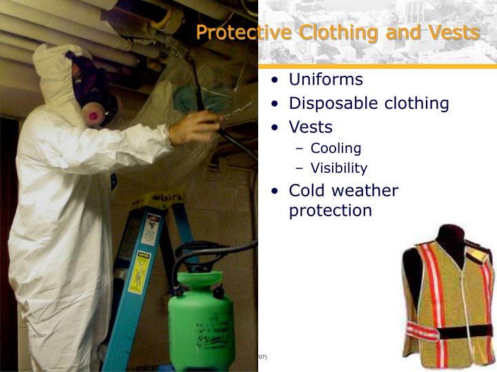 Protective Clothing and Vests