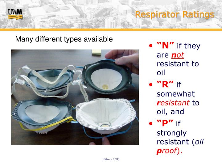 Respirator Ratings