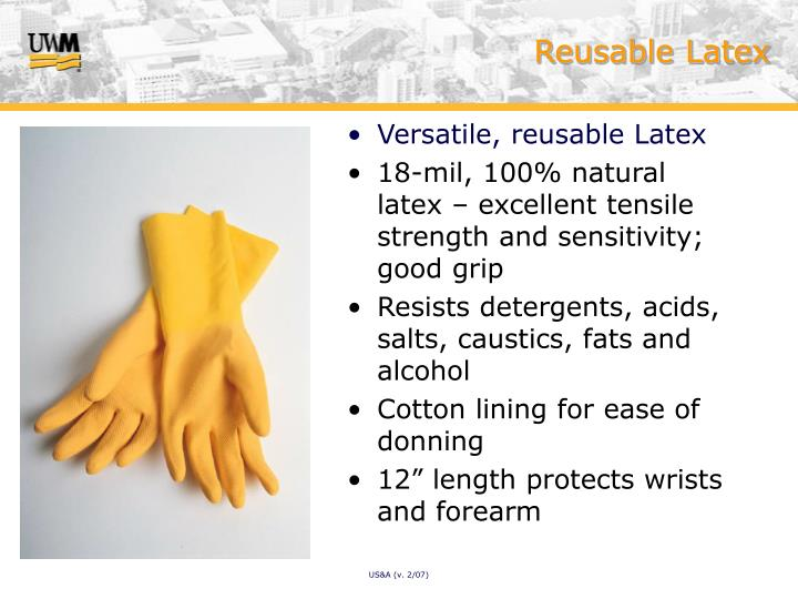 Reusable Latex