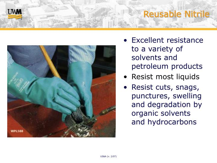 Reusable Nitrile