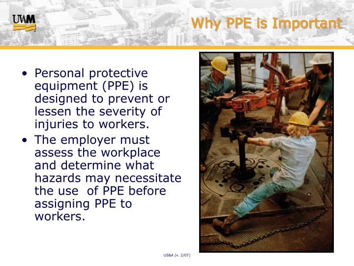 Why ppe is important