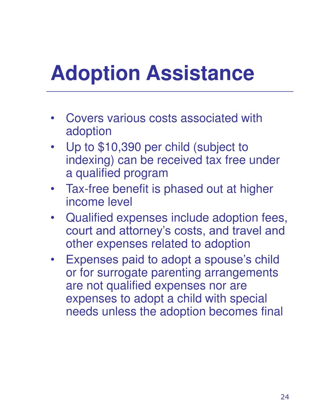 Adoption Assistance