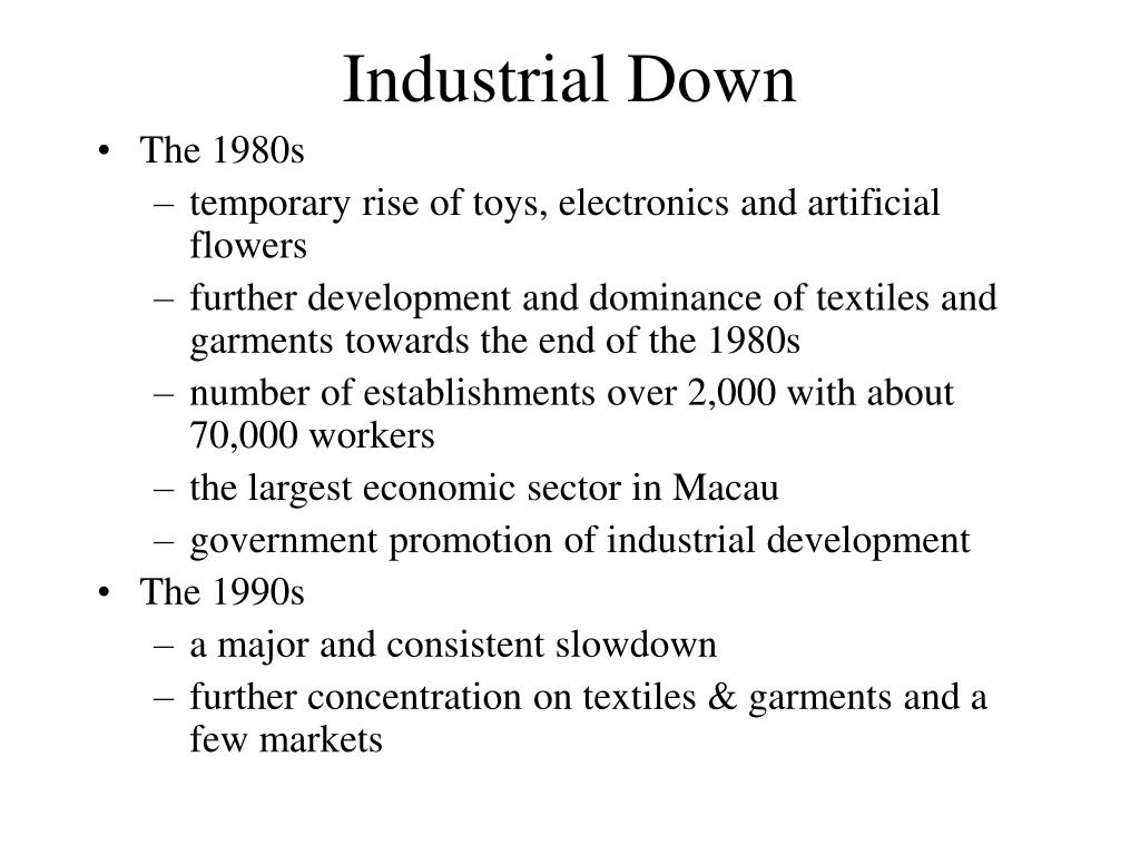 Industrial Down