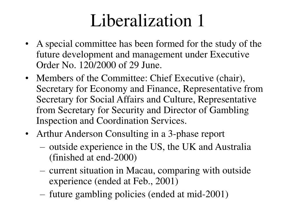 Liberalization 1