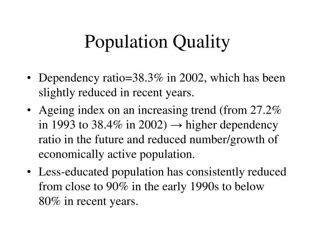 Population Quality