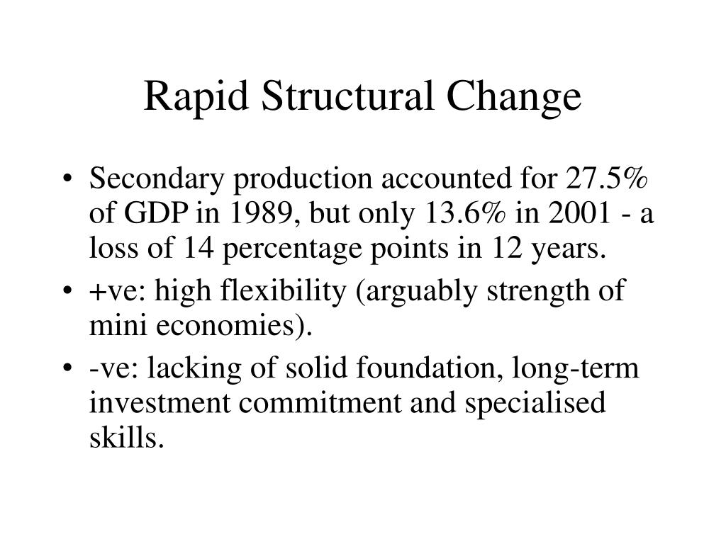 Rapid Structural Change