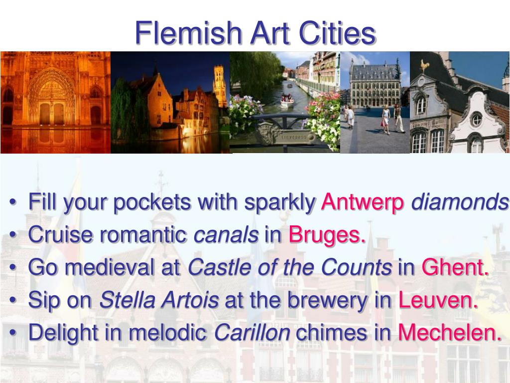 Flemish Art Cities