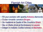 flemish art cities