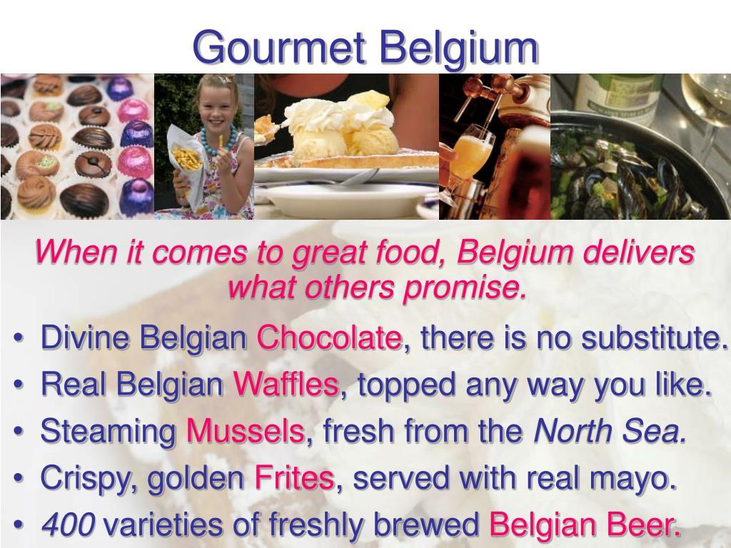Gourmet Belgium