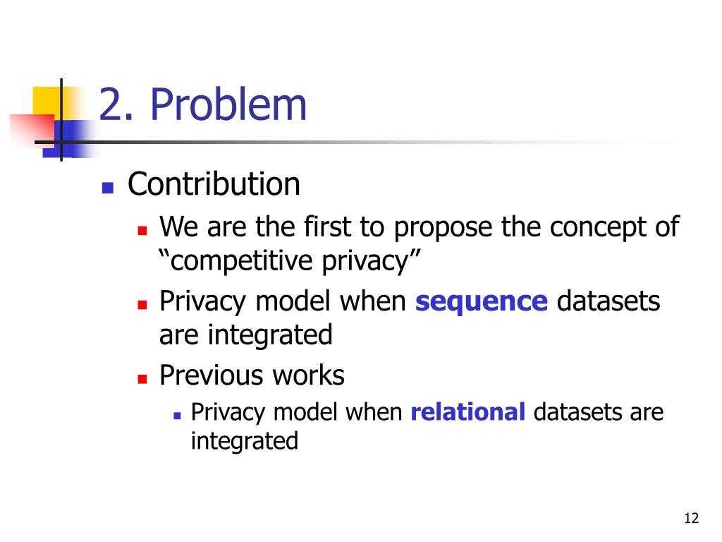 2. Problem