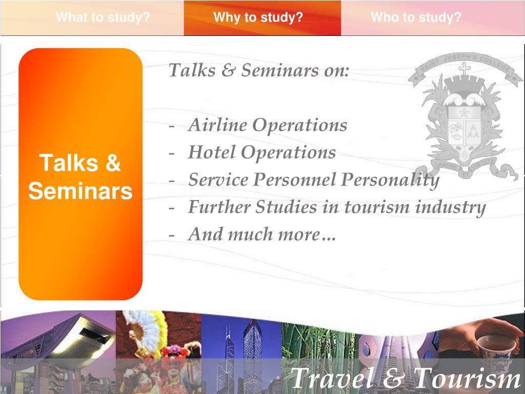 Talks & Seminars