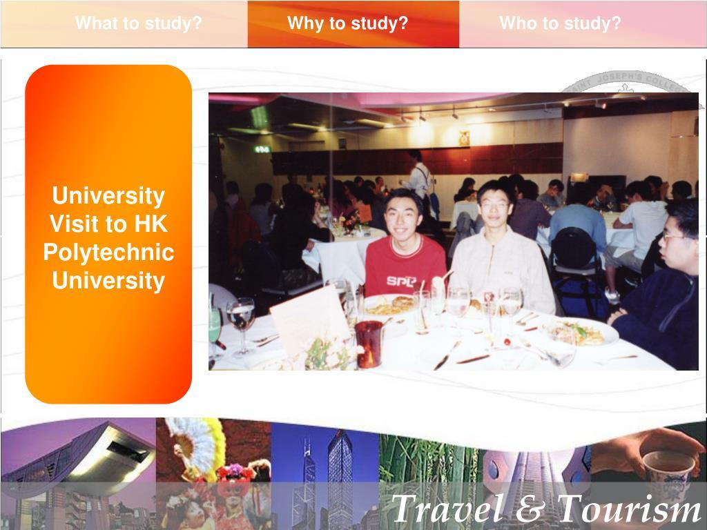 University Visit to HK Polytechnic University